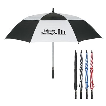 Promotional 58 Arc Vented, Windproof Umbrella