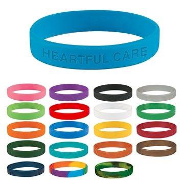Promotional Single Color Silicone Bracelet