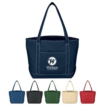 Promotional Medium Cotton Canvas Yacht Tote