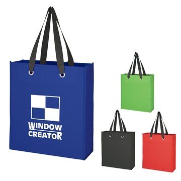 Promotional non-woven-grommet-tote