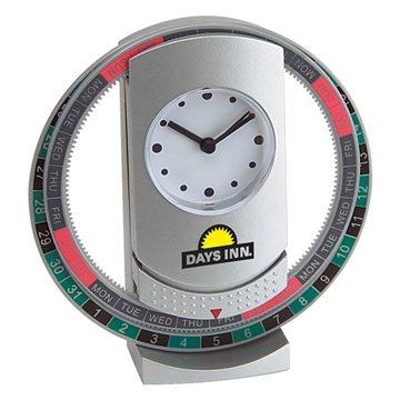 Promotional Revolving Calendar Clock