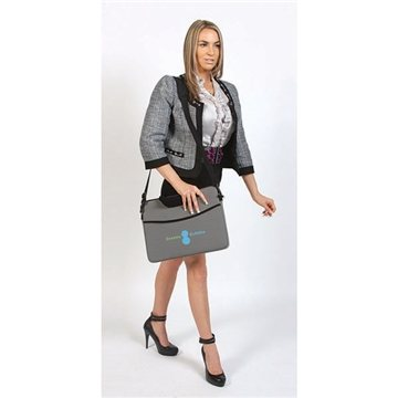 Promotional Deluxe 17 Neoprene Laptop Sleeve with Handle