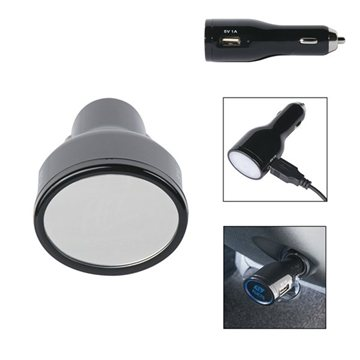 Promotional Light Up USB Car Charger