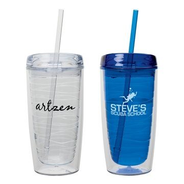 Promotional 16 oz Hot / Cold AS Tumbler