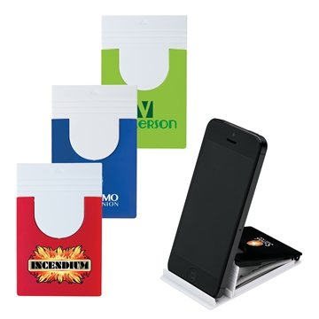 Promotional Custom Phone Holder Cloth Set With Phone Stand Microfiber Cloth