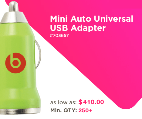 Mini Auto Universal USB Adapter