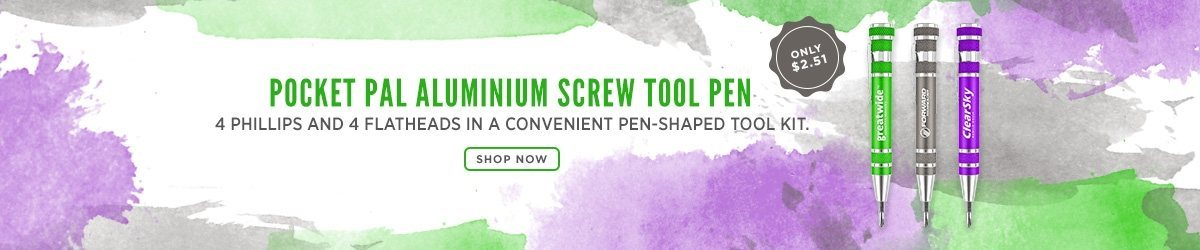 Pocket Pal Aluminium Screw Tool Pen