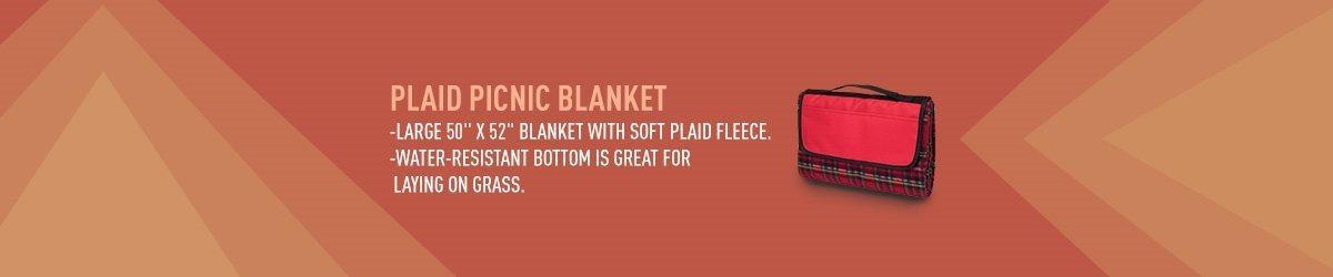 Plaid Picnic Blanket