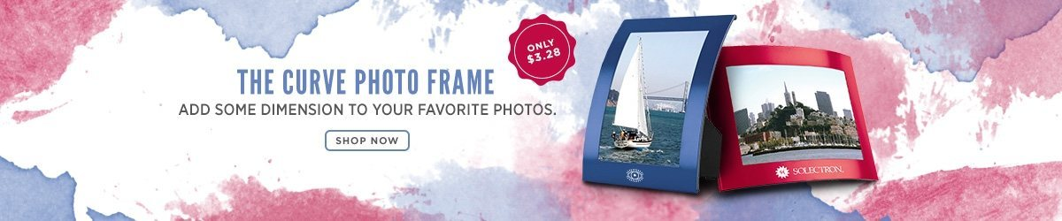 The Curve Photo Frame