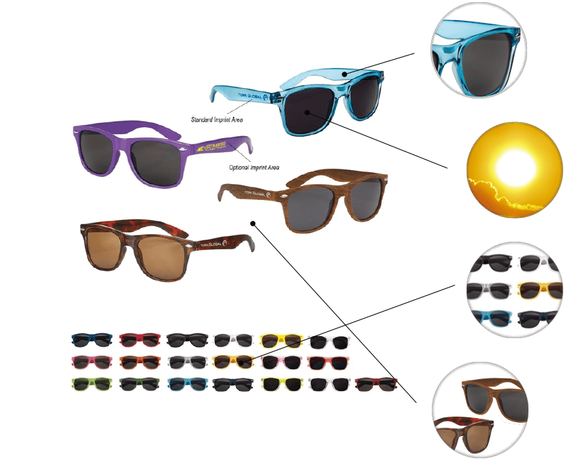 f672388206a Polycarbonate Frames UV400 Lenses (100% UAV UVB Protection) Over 20  Different Colors Woodtone and Tortoise Available