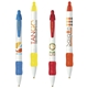 Promotional Bic Widebody Clicking Ballpoint Pen With Multiple Ink, Grip Cap Color Choices