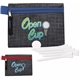 Promotional Golf Tee Kit - 2-3/4 with Printed Non - woven Pouch