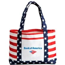 Promotional Patriotic Tote Bag