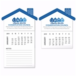 Promotional BIC® Stock Shape Magnet with 12 Sheet Calendar