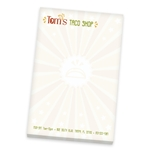 Promotional Scratch Pad - 6 x 4 - White - 50 Sheet