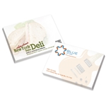 Promotional BIC® 4 x 3 Adhesive Notepad, 100 Sheet Pad
