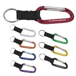 Promotional Modern 8 mm Aluminum Anodized Carabiner Keyholders