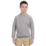 Promotional Jerzees Youth 9.5 oz Super Sweats® 50/50 Fleece Crew