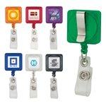 Promotional Badge Holder with Clip
