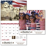 Promotional Celebrate America - Stapled - Good Value Calendars(R)