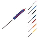 Promotional Pocket Screwdriver With Reversible Phillips And Standard Blades, Magnet Top.