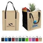 Promotional Non Woven Multi Color Metro Enviro Shopper Bag 13 X 15