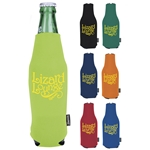 Promotional Zip-Up Long Neck Bottle Koozie Kooler