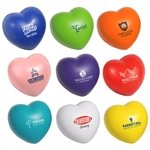 Promotional Heart Squeezie Stress Reliever