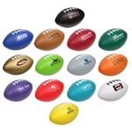 Promotional Large Football Stress Reliever