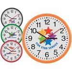 Promotional 12Inch Round Thin Frame Wall Clock