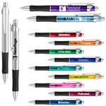Promotional Albany Rubber Grip Gel Ink Click Pen