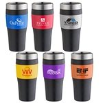 Promotional 16 oz No-Slip-Grip Double Wall Tumbler