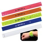 Promotional Reflective Safety Slap Bracelet
