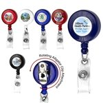 Promotional 30 Retractable Badge Reel With Badge Holder