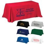 Promotional 3-Sided Economy 6 ft Table Cloth & Covers