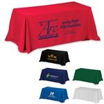 Promotional 8'3-Sided Economy Table Covers & Table Throws
