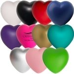 Promotional Custom Heart Squeezies Stress Ball
