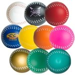 Promotional Custom Baseball Squeezies Stress Ball