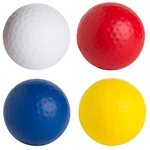 Promotional Golf Ball Squeezies Stress Reliever