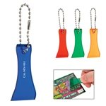 Promotional Lottery Scratcher With Bead Chain