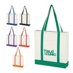 Promotional Non-Woven Tote Bag With Trim Colors