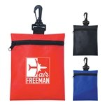 Promotional Non-Woven Zippered Pouch
