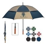 Promotional 68 Arc Windproof Vented Umbrella