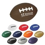 Promotional Football Shape Stress Reliever - Stress Relievers