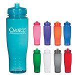 Promotional 28 oz BPA Free Poly-Clean Plastic Bottle
