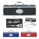 Promotional BBQ Set In Aluminum Case