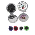 Promotional 3-In-1 Brush With Sewing Kit