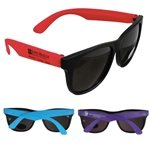 Promotional Neon UVA & UVB Protection Sunglasses With Multiple Color Choices
