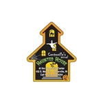 Promotional Haunted House - Die Cut Magnets