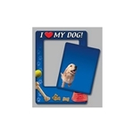Promotional I Love My Dog - Picture Frame Magnets
